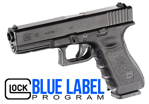 glock blue label